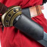 LARP-Schwerthalter aus Leder, einfach