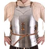 Mailänder Harnisch, Brust- und Rückenpanzer, 15. Jahrhundert