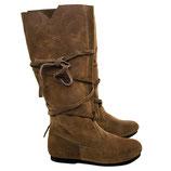 Mittelalter Stiefel aus Wildleder