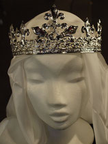 Krone  Lilien silbern (CH-D-3Lilie-si)