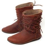 Hohe Schuhe des frühen Mittelalters, 13-15. Jh. (o4e-9684)