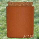 Zuckerdose 0,1, 0,2 Liter aus Ton mit Deckel aus Kork
