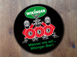 """Aufkleber rund """" Wikinger-Bier"""" SVA-026-095"""