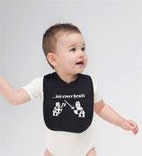 """Baby Lätzchen """"Bis einer heult"""""""