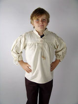 Kinder Mittelalterhemd