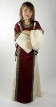 Kinder Mittelalter-Kleid mit Borte