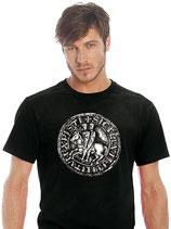 """T-Shirt """"Siegel der Templer"""""""