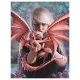 "Anne Stokes Karte ""Dragon Kin"""