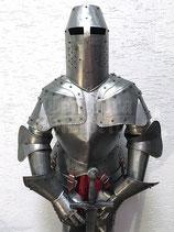 Deko-Ritterrüstung mit Topfhelm