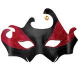 """Venezianische Maske """"Drago"""", Leder"""