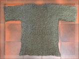 Kettenhemd, Flachring 6 mm, halb vernietet, mixed Gr. XL/XXL