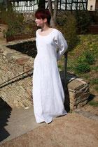 Unterkleid aus 100% Leinen, lange Version