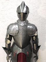 Deko-Ritterrüstung mit Visierhelm