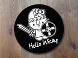 "Aufkleber  "" Hello Wicky"" SVA-061-090"