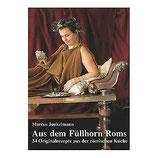 """Buch """"Aus dem Füllhorn Roms"""" römisches Koch-Rezepte"""
