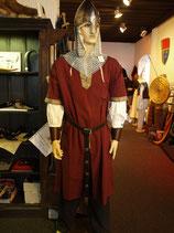 Tunika mit kurzem Arm und Borte L8085 fürs Mittelalter und Larp