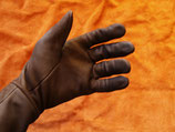 exklusive Stulpenhandschuhe aus feinem Leder - HANDARBEIT