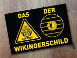 """Aufkleber """"DER Wikingerschild"""""""