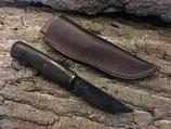 Messer handgeschmiedet scharf mit Lederscheide (VB-KS06)