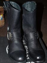 NEW ROCK Stiefel schwarz (M-GY01-S1)