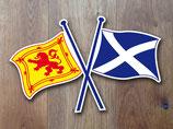 """Aufkleber  """"Schottland"""""""