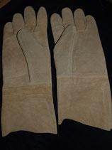 Gepolsterte Lederhandschuhe aus Leder (O4E-4380)