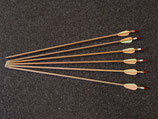 """26"""" Kinder-Pfeile für traditionelles Bogenschiessen einfach H33059"""