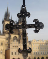 Anhänger Amulett großes Klosterkreuz  (LA-MMP20)