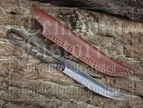 Mittelalter Messer mit Lederscheide