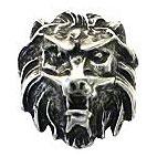 """Zierniete """"fauchender Löwe"""", groß 45mm"""