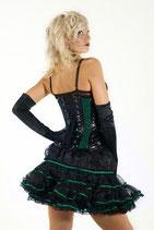 Petticoat Rock schwarz und grün  (BUR-LILSKMNORGGRN)