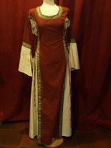 Kleid mit Borte L4066 für Mittelalter und Larp
