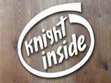 """Aufkleber CAD """"knight inside"""""""