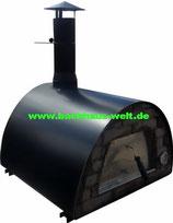 Mobiler Steinofen Maximus, schwarz