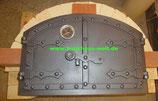 Gewölbeofen Bausatz Typ2 Backfläche ca. L100xB50cm, Gusstür Modell Ungarn