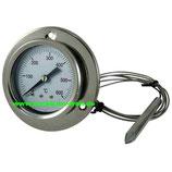 Thermometer mit Kabel, 600°C, Länge 1,5