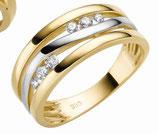 Ring Gold Zirkonia