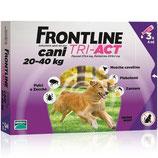 FRONTLINE TRI-ACT PER CANI DA 20 A 40KG DI PESO - 3 o 6PIPETTE