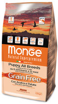 Grain Free con Anatra e Patate – All Breeds Puppy 2,5KG