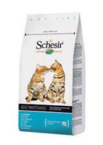schesir mantenimento al pesce - gatto adulto - 1,5kg