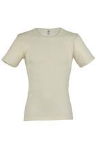 Herren Shirt kurzarm, feinripp