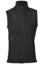 Herren Weste tailliert mit Reißverschluss auch an den Taschen, dickes Fleece