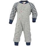 Einteiliger Schlafanzug ohne Fuß, Wollfrottee