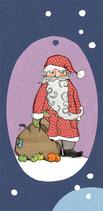 Klappkarte: Weihnachtsmann