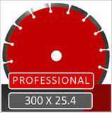 Professional H 300 x 25.4