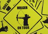 """Archer on Tour - Custom Design"""