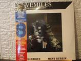 Tangerine Dream-Livemiles-2 LP-Set -Translucent Blue Vinyl