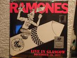 Ramones - live in Glasgow /19 December 1977 -Vinyl