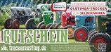 """3-Schlösser-Tour Ticket """"Trecker-Diplom"""" Erlebnisgutschein - Oldtimer-Trecker zum Selbstfahren mit Schön-Wetter-Garantie"""