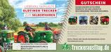 Geschenkgutschein - 11er Deutz Oldtimer-Trecker zum Selbstfahren - Saison 2018